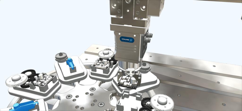Robotersimulation ... iPhysics - 3D Simulation via Simulationssoftware von machineering.com