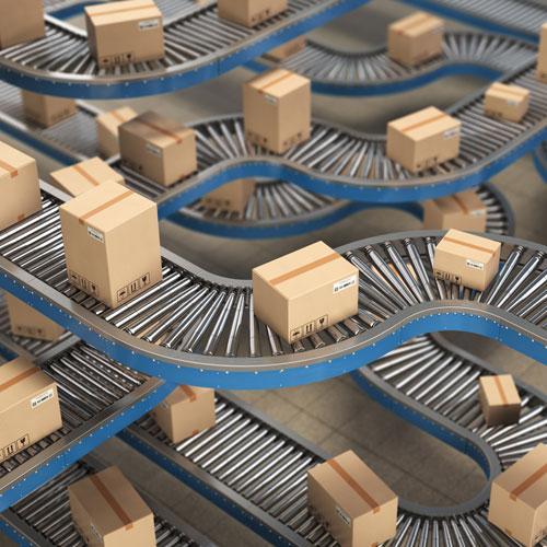Virtuelle Inbetriebname VIBN für Logistik ... mit IPhysics, der 3D Simulationssoftware von machineering